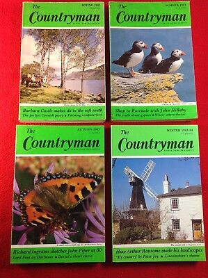 The Countryman Magazine : 4 Issues : 1983 • 5.99£