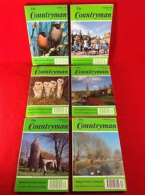 The Countryman Magazine : Full Year - 6 Issues : 1995 • 6.99£