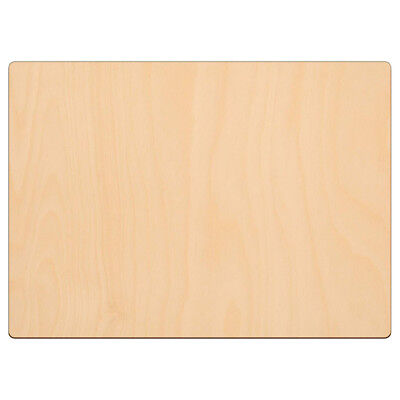 £3.89 • Buy RECTANGLE Wooden Shape Craft Blank 21x29cm BIRCH Wood Plaque Sign Pyrography