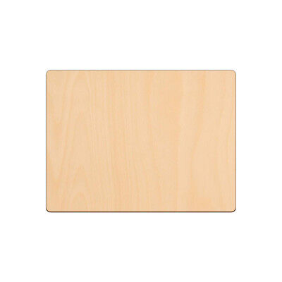 £2.87 • Buy RECTANGLE Shape Craft Blank 20.3x15.2cm BIRCH Wood Plaque Sign Pyrography