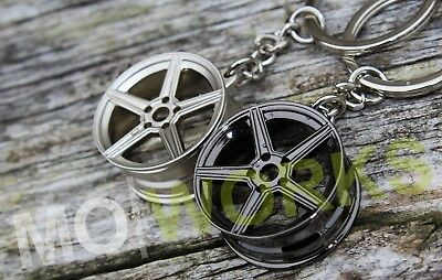 Keychain Fo AMG Wheels Keyring JDM USDM Turbo Auto Rims For Mercedes Benz Parts • 8.12£