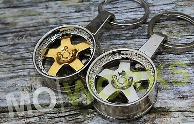 Keychain For Meister S1 Wheels Keyring JDM USDM Turbo Auto Rims Spare Parts • 8.12£