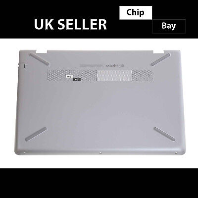 HP 15-CC543NA 15-CC Laptop Bottom Base Chassis Plastic Cover Silver • 39.99£