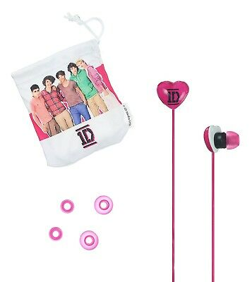 One Direction Universal In-Ear Headphones - Pink • 10.15£