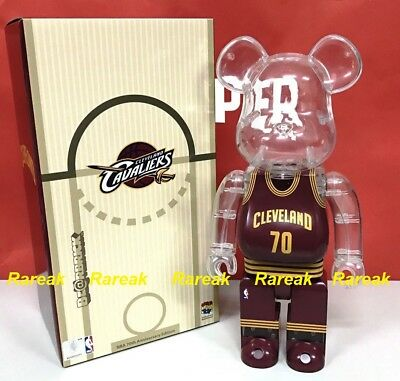 $175.99 • Buy Medicom Be@rbrick NBA X Milk Magazine 400% Cleveland Cavaliers Bearbrick 1pc