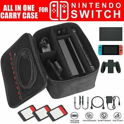 $11.97 • Buy For Nintendo Switch Travel Carrying Case Protective Storage Bag Large Capacity