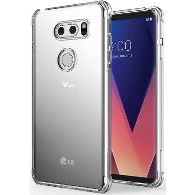 AU4.99 • Buy Soft Gel Clear Transparent Protective Case Cover For LG V30+ LG V50 V40 G7 ThinQ