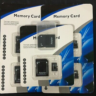 $22.96 • Buy Mini SD Card 32GB 64GB 128GB 256GB 512GB Class 10 Micro Sd + Free Adapter LOT