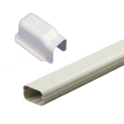 AU32 • Buy 2m Long PVC Duct Pipe 100x2000mm With Wall Cover For Air Conditioner Coolroom