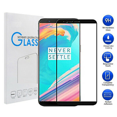 AU4.90 • Buy 3D Full Coverage Tempered Glass Screen Protector For OnePlus 6 6T One Plus 5 5T
