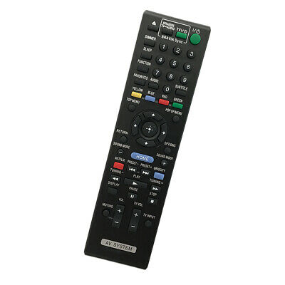 AU19.20 • Buy FIT For Sony HBD-E2100 BDV-E4100 DVD Blu-ray Home Theater System Remote Control