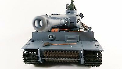 Heng Long Radio/Remote Control RC Tiger Tank 1/16th Scale Super Detail Cheap! • 159.99£