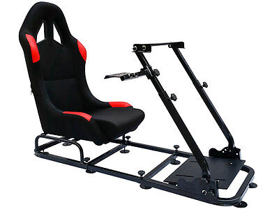 Racing Simulator Chair Rally WRC F1 Race Gaming Frame Seat PC Playstation Xbox • 209.99£