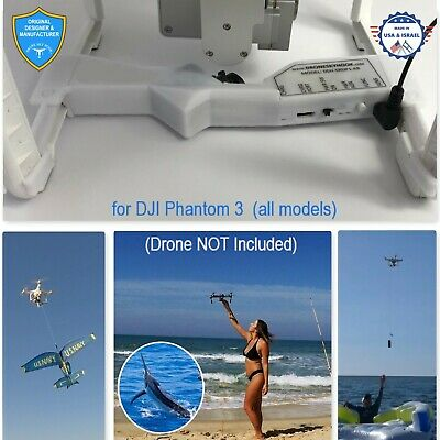 AU231.21 • Buy PROFESSIONAL Release Device , Drone Fishing, Payload Delivery For DJI Phantom 3