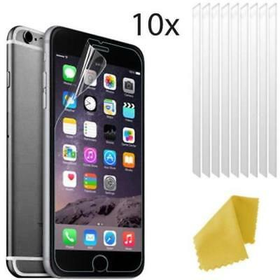 AU4.73 • Buy 10 X Apple IPhone 6s PLUS Clear Plastic Screen Guard LCD Protector Film 3 Layers
