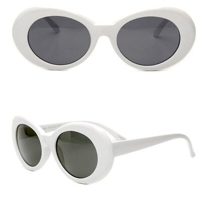 321fcb6cd2c White Clout Goggles Glasses Vintage Classic Kurt Cobain Sunglass Oval  Hypebeast • 7.95