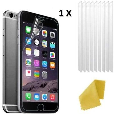 AU2.56 • Buy Apple IPhone 6s Clear Plastic Screen Guard LCD Protector Film 3 Layers