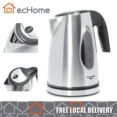 AU40.64 • Buy INNOWARE 1.7L Stainless Steel Cordless 2200W Boil-Dry Protect Electric Kettle