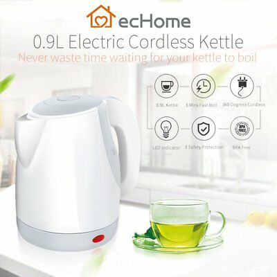 AU23.02 • Buy INNOWARE 0.9L LED Cordless Portable Electric Kettle Fast Boil Water Jug