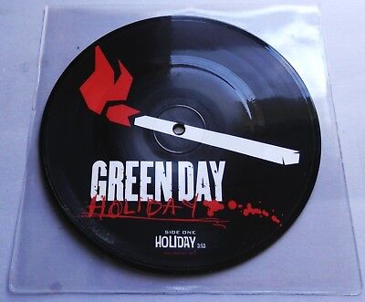 Green Day - Holiday 2005 Reprise Picture Disc 7  Single • 15.99£