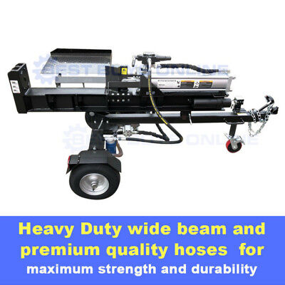 AU2355.95 • Buy Log Splitter 30 Ton Black Diamond 6.5hp Honda Petrol Engine Wood Cutter