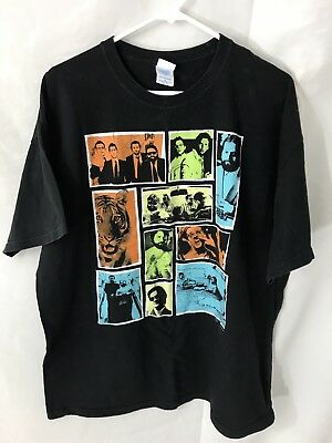 The Hangover Movie T-shirt Snap Shot Picture Strip Tiger Size XL • 11.59£