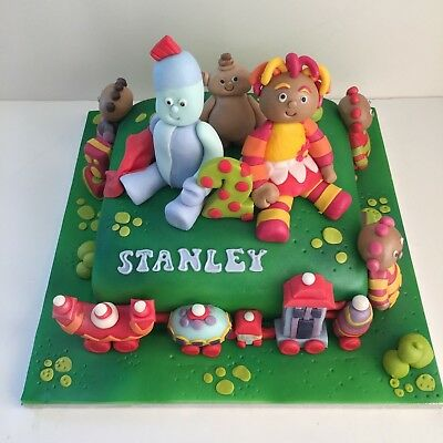 In The Night Garden - Cake Toppers / Edible Sugar Cake Decoration • 7.95£