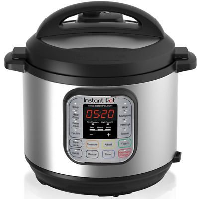 $178.98 • Buy Instant Pot Duo 60 7-in-1 Multi-Use Programmable Pressure Cooker, 6QT USA NEW