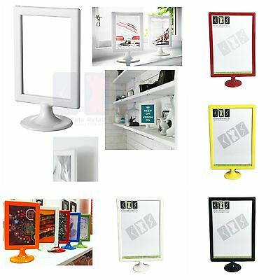 New A4,a5 Display Stand Sign Holder Poster Frame For Counter Top Sale Sign  • 3.99£
