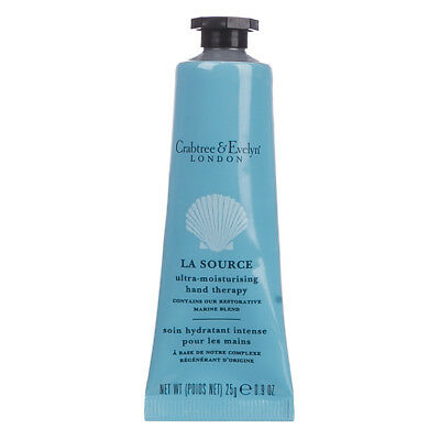 NEW Crabtree & Evelyn London La Source Ultra-Moisturising Hand Therapy - 25g • 7.99£