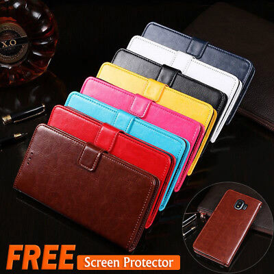 AU3.95 • Buy Samsung Galaxy J2 J5 J7 Pro Wallet Leather Case Magnetic Flip Card Stand Cover