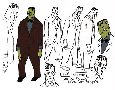 $ CDN26.46 • Buy Addams Family LURCH MODEL SHEET HB Cartoon