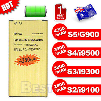 AU8.75 • Buy Li-ion Replacement Battery For Samsung Galaxy S2 S3 S4 S5 I9100 I9300 I9500 G900