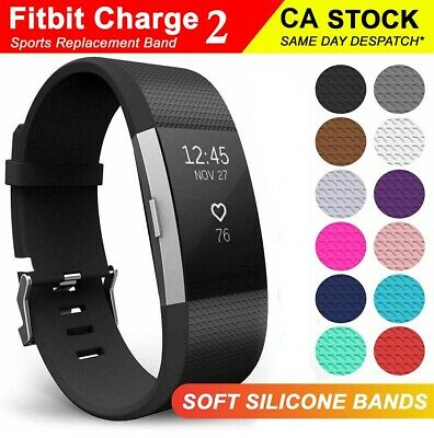 $ CDN6.99 • Buy  Fitbit Charge 2 Band Replacement Wristband Watch Strap Bracelet W/ Metal Buckle