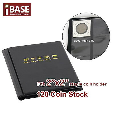AU12.99 • Buy Staple 2 X2  Coin Holder Collection Collecting Album Stock Storage Pocket 120
