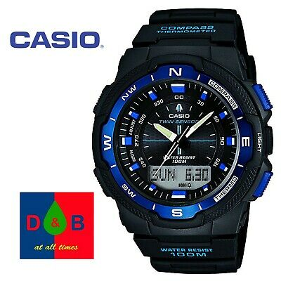 *Low Price* Casio Men's SGW-500H-2BVER Resin Band Digital Sports Watch RRP £110 • 54.99£