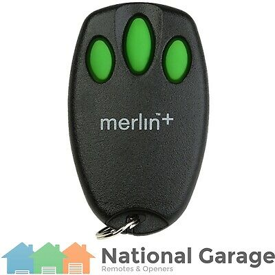 AU34.95 • Buy Garage Door Remote Control Merlin C945 Security+ Keyring - Replacement Options!