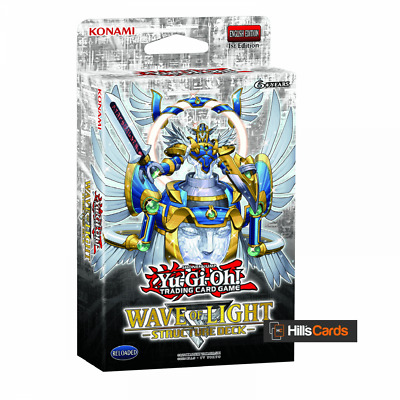 YuGiOh Wave Of Light Structure Deck New & Sealed English 1st Edition TCG Cards • 10.89£