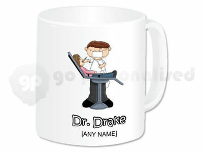 Personalised Gift Dentist Mug Cup Dental Nurse Student Graduation Present Idea • 9.99£