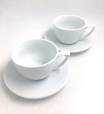 NESCAFE ROMA 12oz COFFEE CUP AND SAUCER SET OF 2  • 12.99£