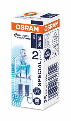 Osram Oven Halopin 230/240v 25w G9 Halogen Capsule Bulb High Temperature 66725 • 6.99£
