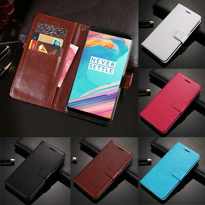 AU7.42 • Buy For OnePlus 7T 7 Pro 6T 6 5T Magnetic Card Slots Wallet Flip Leather Case Cover