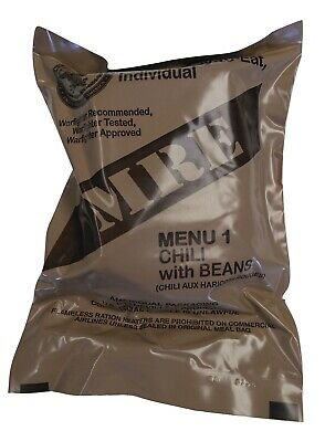 $19.99 • Buy NEW MRE Singles - 2022 Inspection Date - US MILITARY Meals Ready To Eat