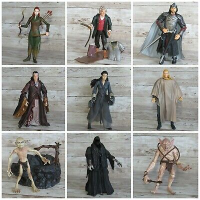 £9.99 • Buy The Lord Of The Rings & The Hobbit Toy Figures ~ Orc Uruk-Hai Gondor Elf Hobbits