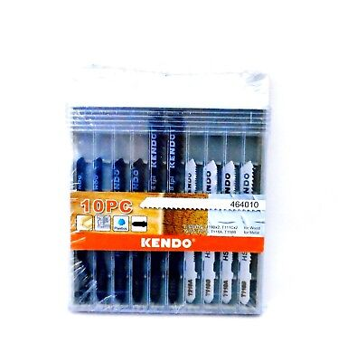 10 Piece Mix Jigsaw Blade Set For Wood And Metal Bosch Type • 3.99£
