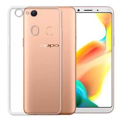 AU7.99 • Buy Soft Gel Clear Transparent Case Cover For Oppo A73 F5  AX5 A5 + Screen Protector