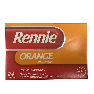 Rennie Orange Indigestion And Heartburn Tablets 24 - Multibuy • 4.59£