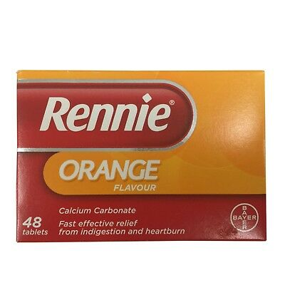 Rennie Orange Indigestion And Heartburn Tablets - 48 • 6.99£