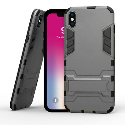 AU13.38 • Buy IPhone X 8plus 7Plus 5s Armor Case With Slim Dual Layer Wallet Card Slot Holder