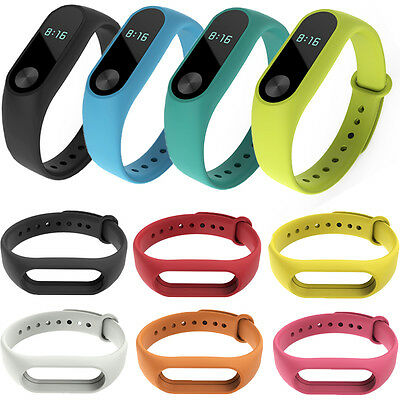 AU3.44 • Buy Replacement Wrist Bands For Xiaomi Miband 2 Silicone Strap MI Band Bracelet